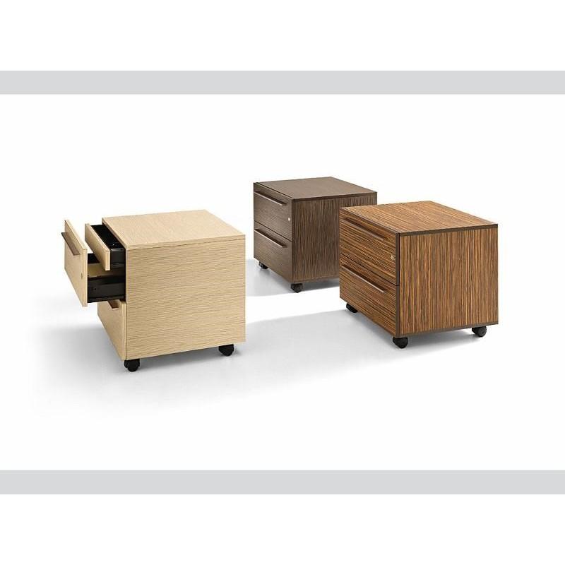 Bureau direction eos avec meuble de rangement mobilier for Meuble bureau avec rangement