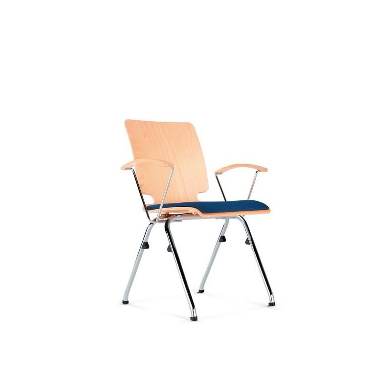 chaise axo empilable avec tablette critoire mobilier de bureau. Black Bedroom Furniture Sets. Home Design Ideas