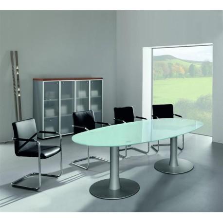 Table de réunion VERRE