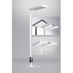 Lampadaire Ludic Fluo ou LEDS