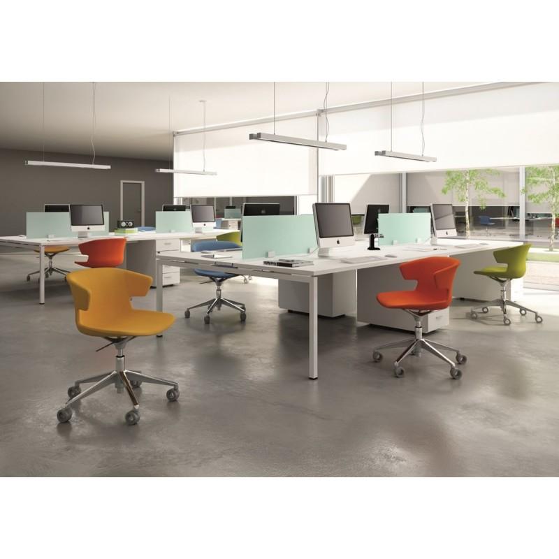 Fauteuil de travail cove mobilier de bureau for Mobilier bureau quadrifoglio