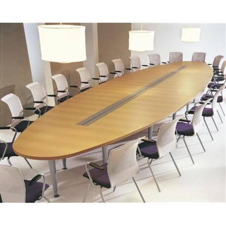 Table de réunion COULEUR BOIS
