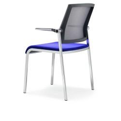 Chaise visteur avec accoudoirs SCOPE