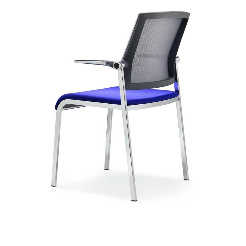 Chaise visteur avec accoudoirs scope mobilier de bureau - Chaise visiteur avec accoudoirs ...