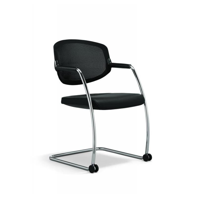 fauteuil visiteur 16 dossier maille mobilier de bureau. Black Bedroom Furniture Sets. Home Design Ideas