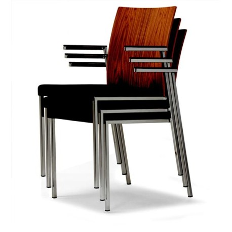 Fauteuil empilable MILANO