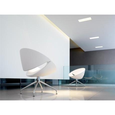 Fauteuil Visiteur Design MYA Mobilier De Bureau - Fauteuil visiteur design
