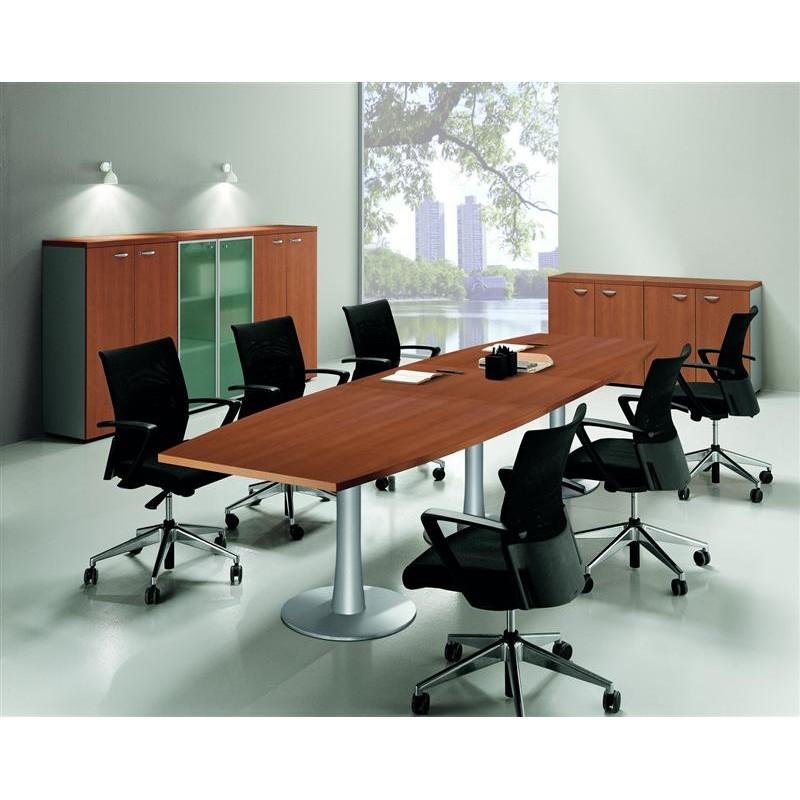 table de conf rence dessus forme tonneau mobilier de bureau. Black Bedroom Furniture Sets. Home Design Ideas