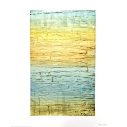 """Tableau abstrait """" équilibre et lumière """""""