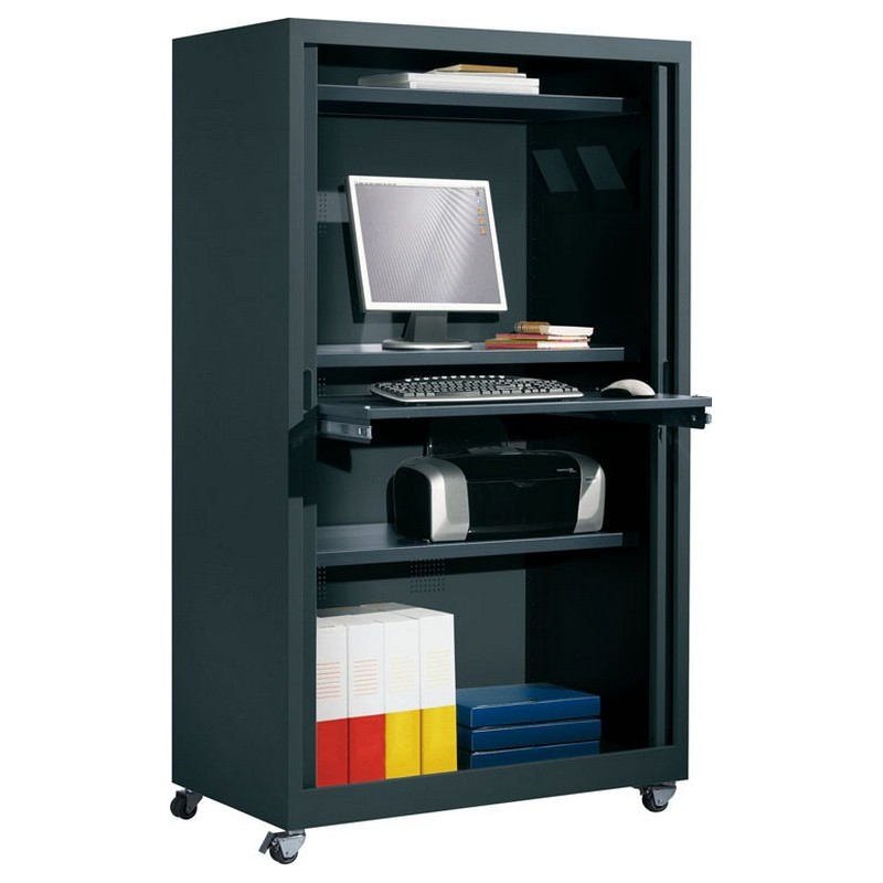 armoire informatique monobloc mobilier de bureau. Black Bedroom Furniture Sets. Home Design Ideas